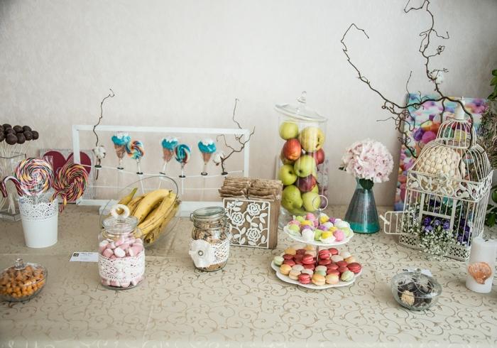 Candy Bar tematica marina