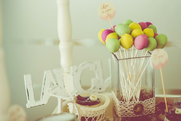 Decor candy bar vintage