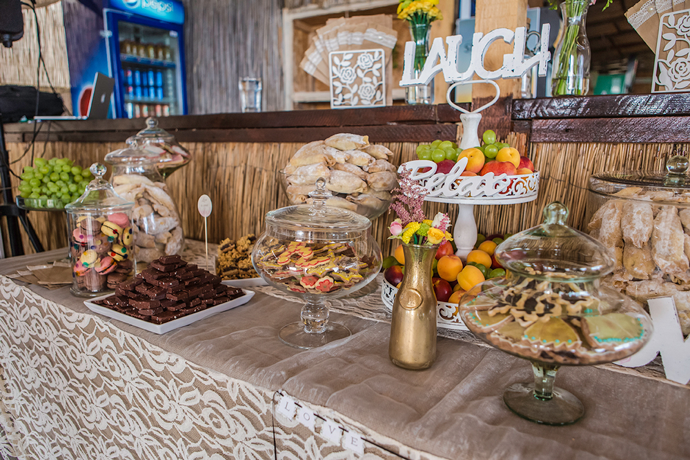 candy bar nunta